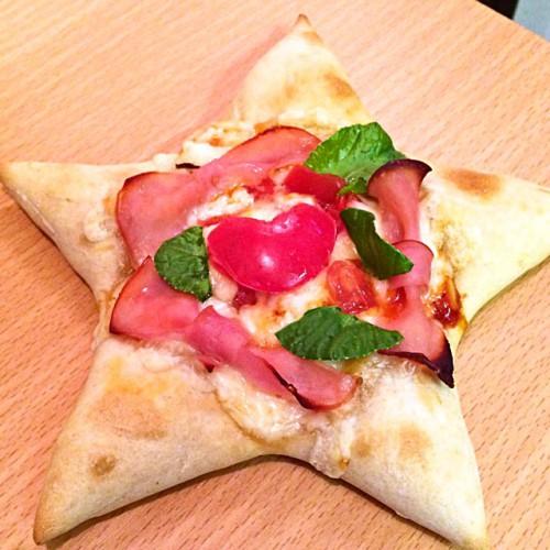 スターな pizzetta in 七夕